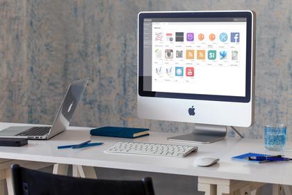 online administration af infoskærme
