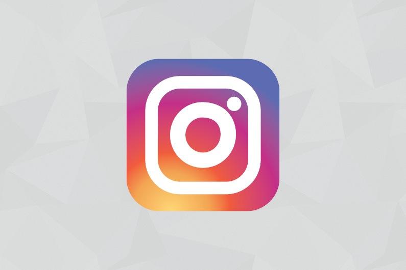 instagram infoskærm